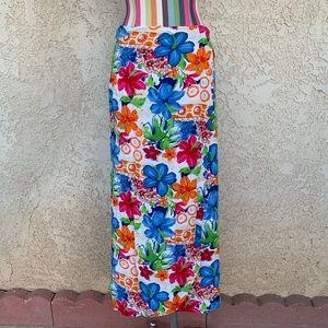Floral Print Wrap